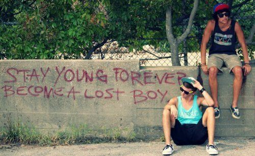 lost boys: Young Forever, Stay Young, Reckless, Quotes, Forever Young, Buckets Things, Summer Things, Lost Boys, Peter Pan