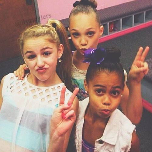 dance moms chloe maddie and asia