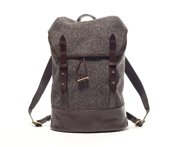Cherchbi tweed and leather backpack...click-through for other styles