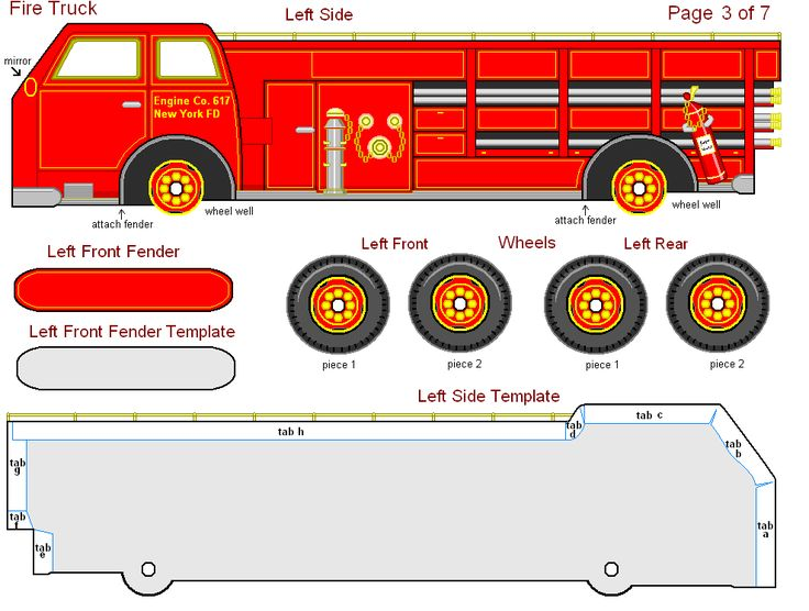Fire truck birthday invitation template maxwellsz