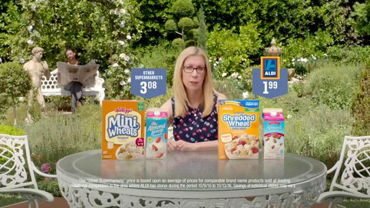Aldi #ILikeALDI - Almond Milk TV Commercial ad advert 2016  ALDI TV Commercial • ALDI advertsiment • #ILikeALDI - Almond Milk • ALDI #ILikeALDI - Almond Milk TV commercial • Think you'd be able to see through the switcheroo? We're betting you'd like 'em both, but love our price. Use #ILikeALDI to tell us about your comparison experience!  #Aldi #Homemade #HotDog #Toppings #Break #ketchup #friend #EmilyCaruso #JellyToast #AbanCommercials
