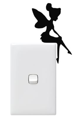 Single Tinkerbell light Switch Sitters (PowerPoint Not Included)
