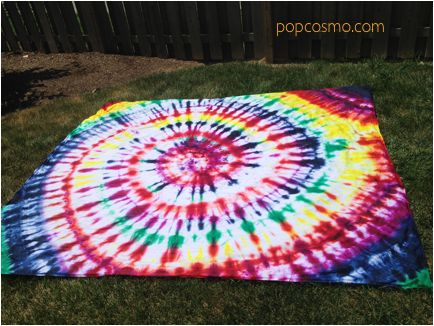 Tie-Dye: beach sheet, picnic blanket, bed sheet: FAST and gorgeous