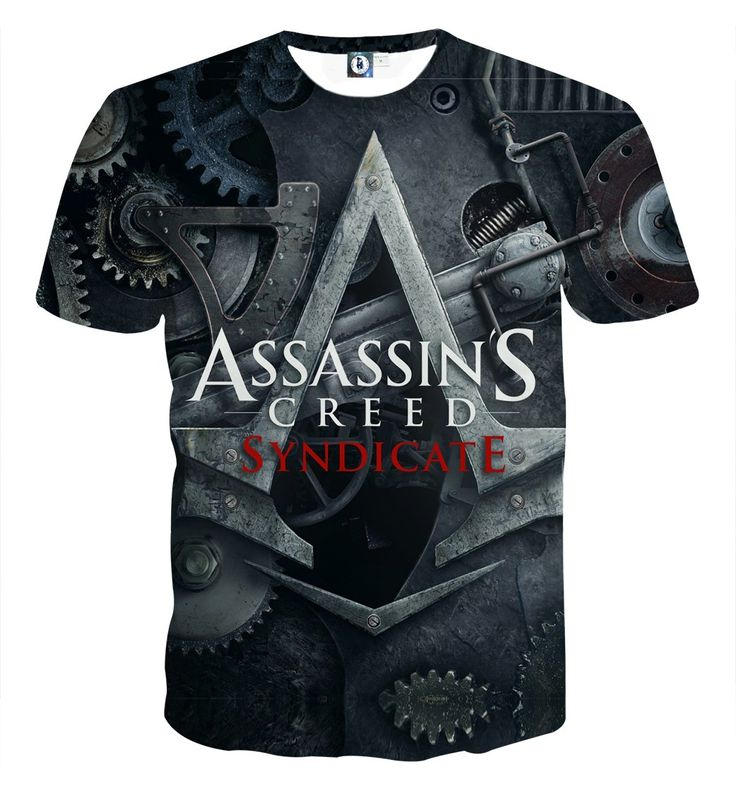 Assassin's Creed Syndicate Symbol Machine Style Swag T-shirt    #Assassin'sCreed #Syndicate #Symbol #Machine #Style #Swag #T-shirt