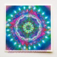 Meditatiekaart Cosmic Energy 9 x 9 cm - www.droomcreaties.nl