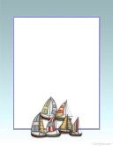 Fathers Day Boat Stationery