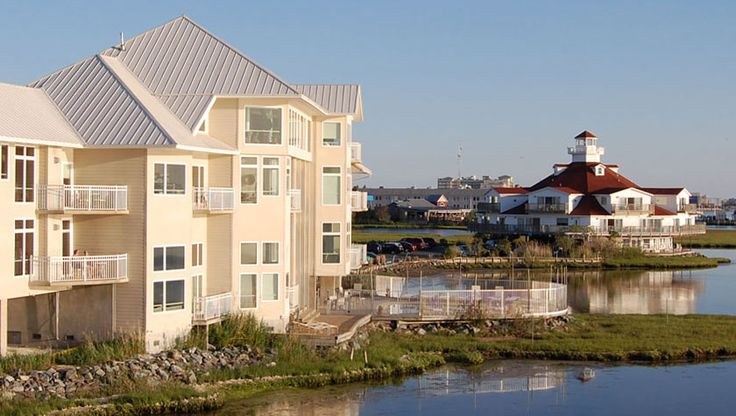 Stay in a lighthouse in Ocean City, MD! The Lighthouse Club at Fager's Island #ocmd