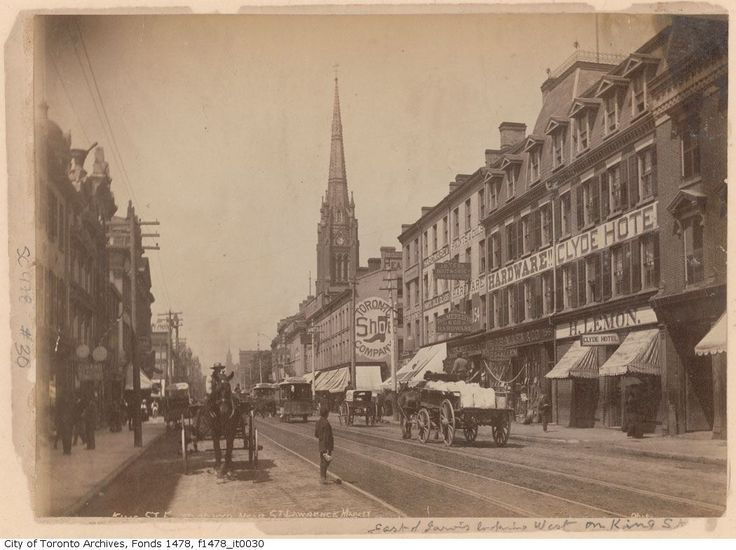 King Street East, Toronto, Ontario.