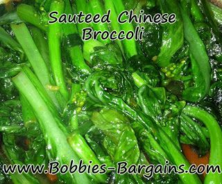 Sauteed Chinese Broccoli | Good Eatin' Veggies, Sides and Sauces | Pi ...