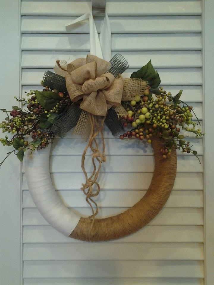 Pool Noodle wreath!!!!! | Projects I have done ...
