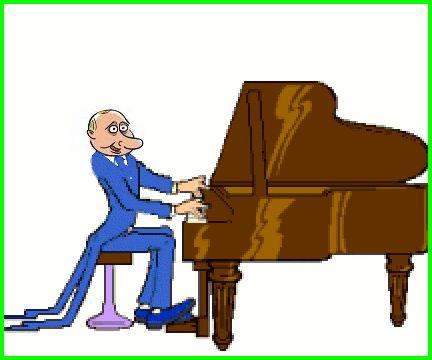 Анимация картинки музыканты