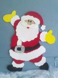 Dicas para fazer Papai Noel em EVA 001                                                                                                                                                                                 Mais
