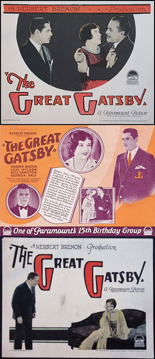 The Great Gatsby (1926) starring Warner Baxter, Lois Wilson & Neil Hamilton