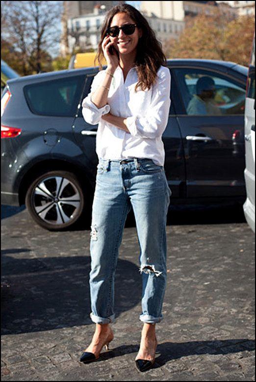 białe koszule do jeansów - Szukaj w Google