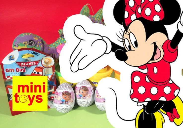 ❤ Disney Zaini Surprise Eggs ❤ Minnie Mouse ❤