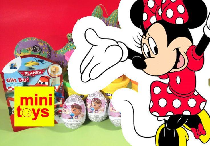 ❤ Disney Zaini Surprise Eggs ❤ Minnie Mouse ❤