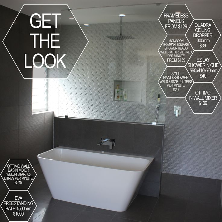 22 best Get The Look images on Pinterest Bathroom remodeling