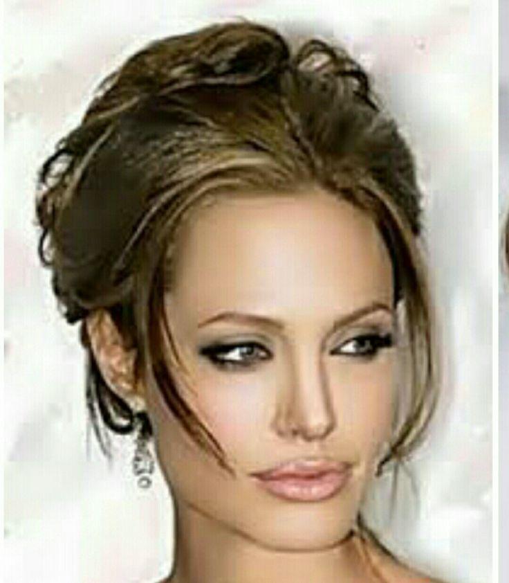 peinado con recogido en cola y de apariencia libre pero totalmente elegante una excelente opcin