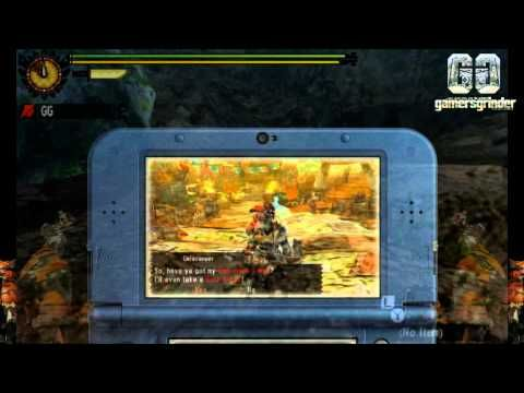 Monster Hunter 4  (3DS) Ελληνικό Video Review    by Gamers Grinder
