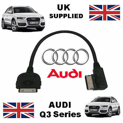 Audi q3 #series ami #4f0051510k for apple 3gs 4 4s iphone ipod #audio cable,  View more on the LINK: http://www.zeppy.io/product/gb/2/141033758197/