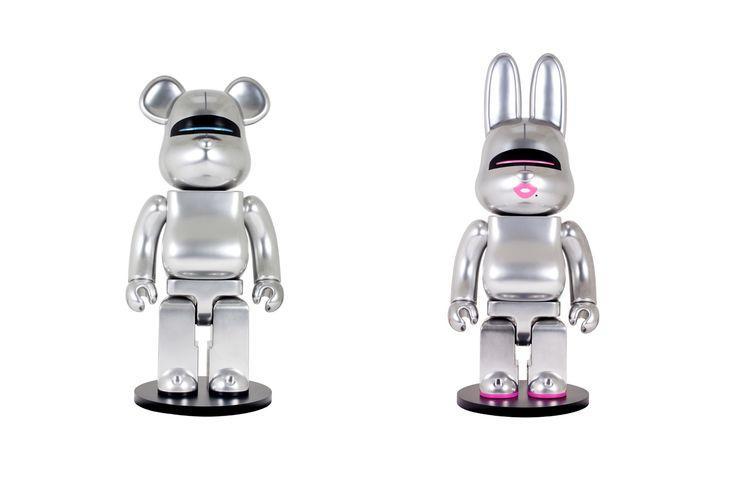 HajimeSorayama Teams up With Medicom Toy on Exclusive BE@BRICK and R@BRICK