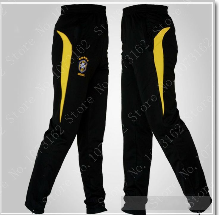 Brazil Athletic Man Sports Pants Men Soccer Football Sports Trousers Boy Sweatpants Sportwear Waist Elastic Gym Jogging Training $27.50