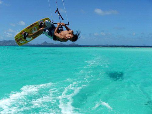 kitesurfing nie koniecznie na Hellu