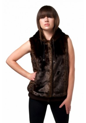 Cruelty Free and full of Fabulous, this Faux Fur vest is perfect for the holidays!