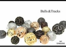 Time Line Beads for Necklaces, Earrings, Pendants direct from Italy