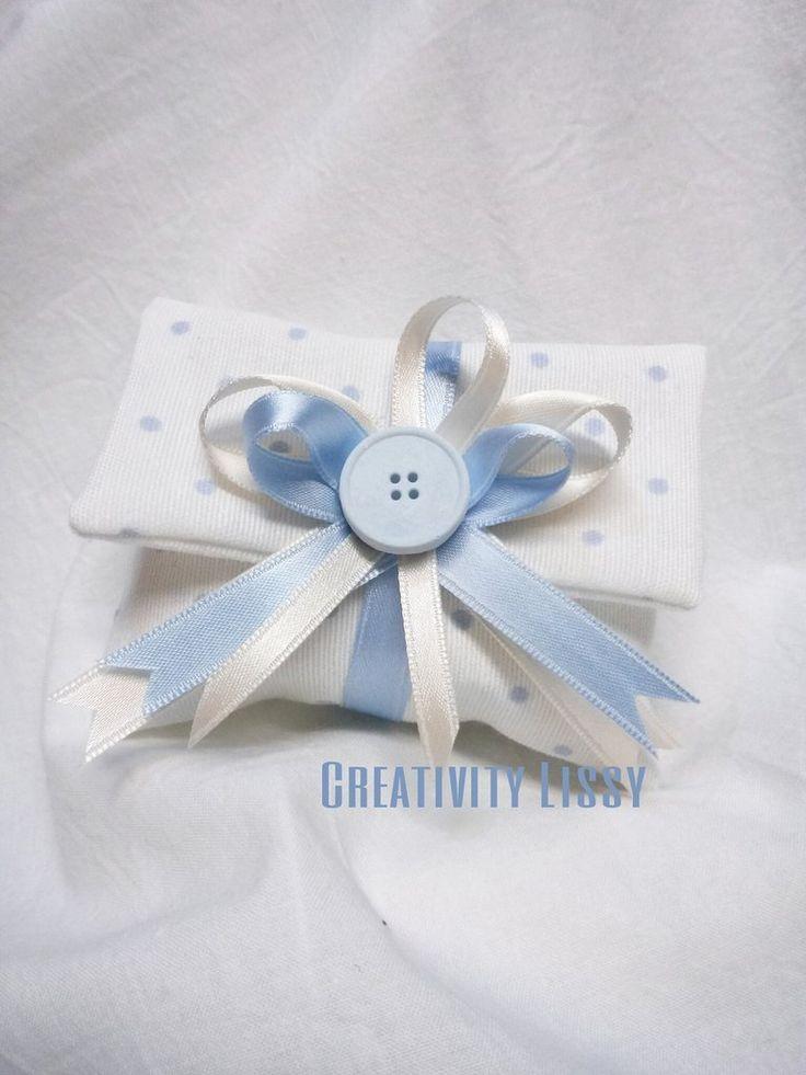Bomboniera portaconfetti bustina battesimo, by Creativity Lissy, 4,50 € su…