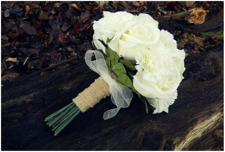 Artificial Bridal Bouquet - 3 Isles Designs