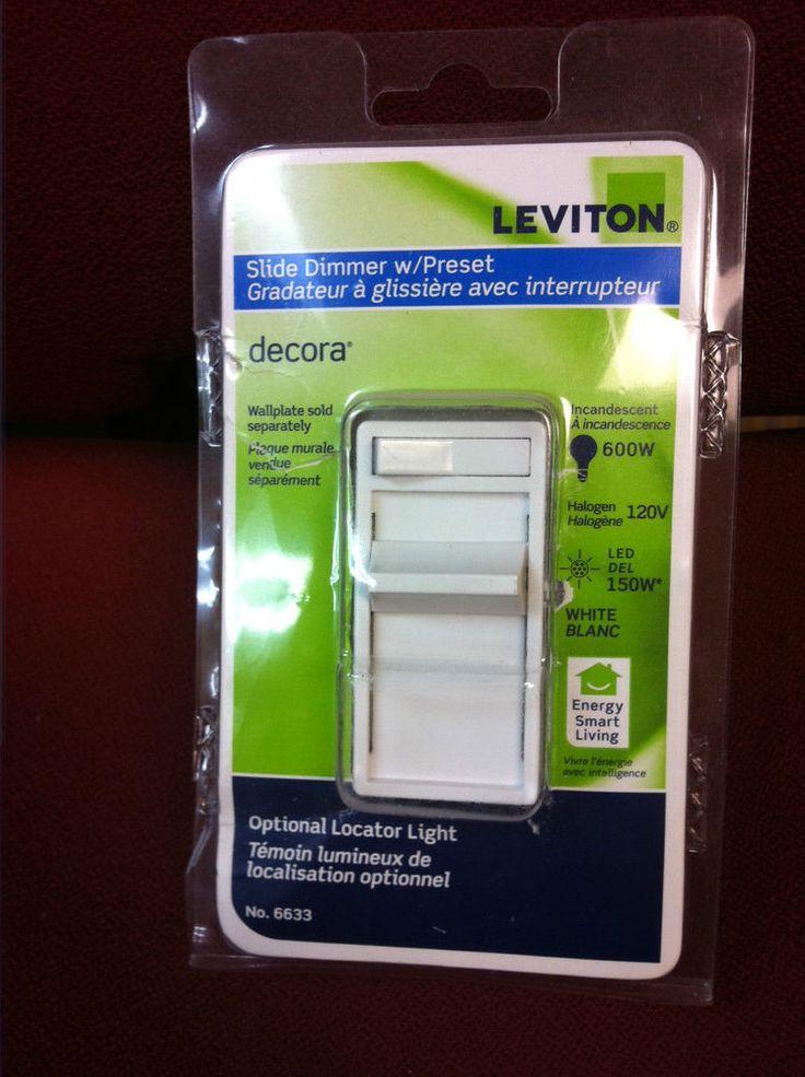Leviton Decora Preset Countdown Timer Switch