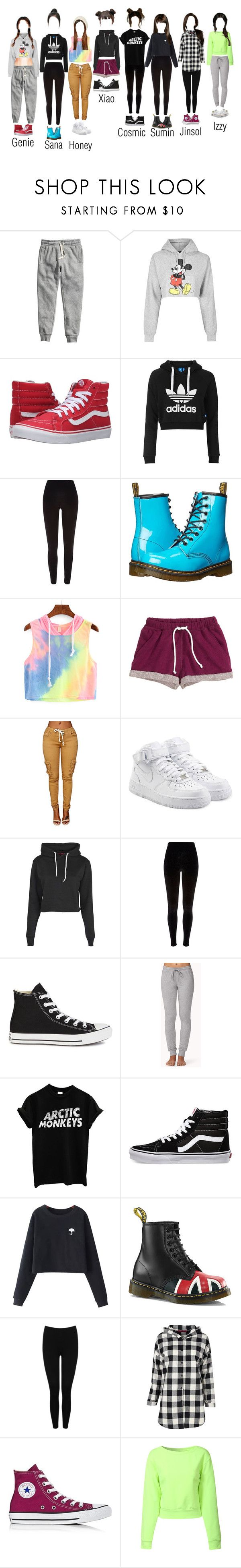 """""""The Dolls - """"Ah Choo"""" Dance Practice"""" by thedolls-official ❤ liked on Polyvore featuring H&M, Topshop, Vans, River Island, Dr. Martens, NIKE, Boohoo, Converse, Forever 21 and Chicnova Fashion"""
