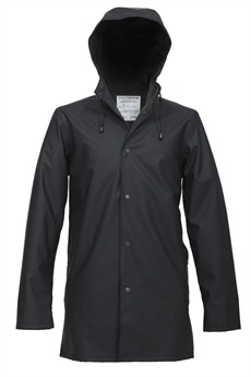 "Swedish raincoat. The company tag line is ""Swedish melancholy at its driest."""