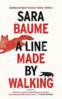 A Line Made by Walking, by Sara Baume. Houghton Mifflin Harcourt, 2017