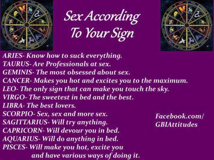 Capricorn best sex match