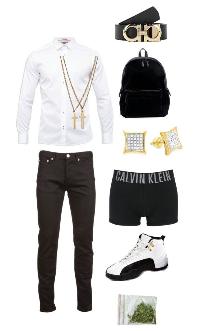 """""""Untitled #177"""" by princeton20181 ❤ liked on Polyvore featuring Ted Baker, Givenchy, Dsquared2, Jordan Brand, Calvin Klein Underwear, Elora, Ann Demeulemeester, Salvatore Ferragamo, men's fashion and menswear"""