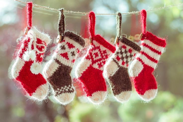 tiny Christmas socks