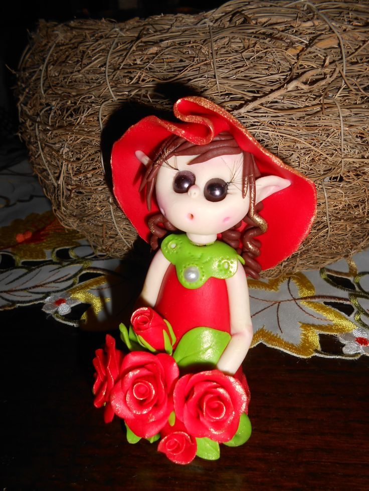 Folletto Lucky red rose