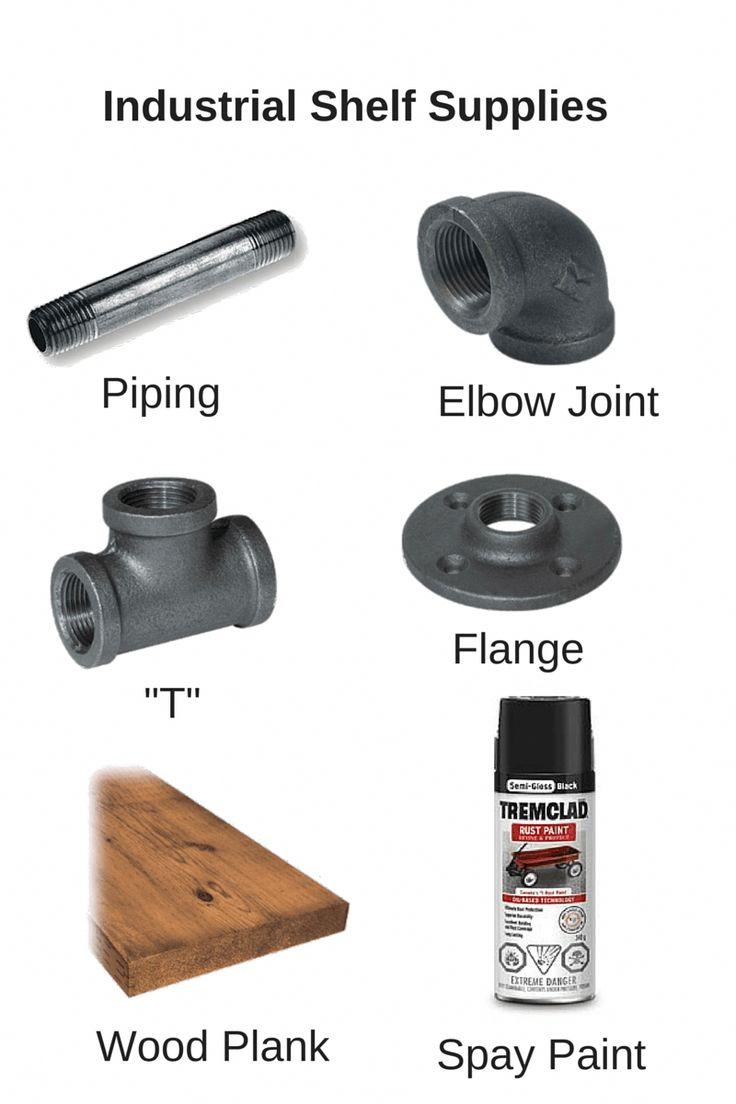Materialien, die Sie für Ihr eigenes DIY-Regal benötigen. Beginnen Sie Ihr Jahr auf der rechten Seite …