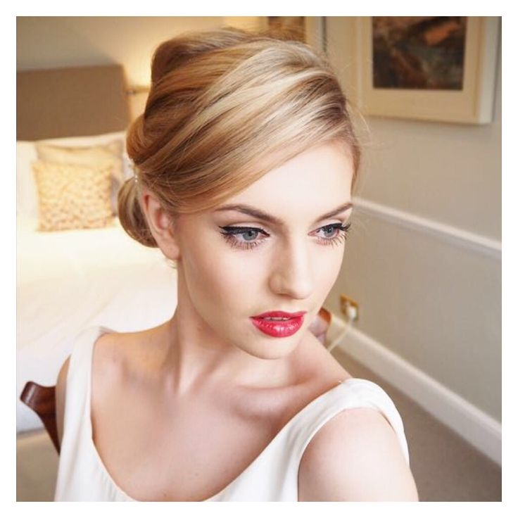 The couture bridal look.. To create this look I used the following key Benefit products -  Hello Flawless Foundation, Dallas Blush, Brow Zings, They're Real Mascara, They're Real Liner and Bentint on the lips. Follow me on Twitter or Instagram for more makeup must haves. #Learnwithlauren