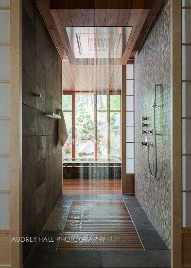 Walk through shower!!