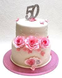 Image result for 50th birthday cakes