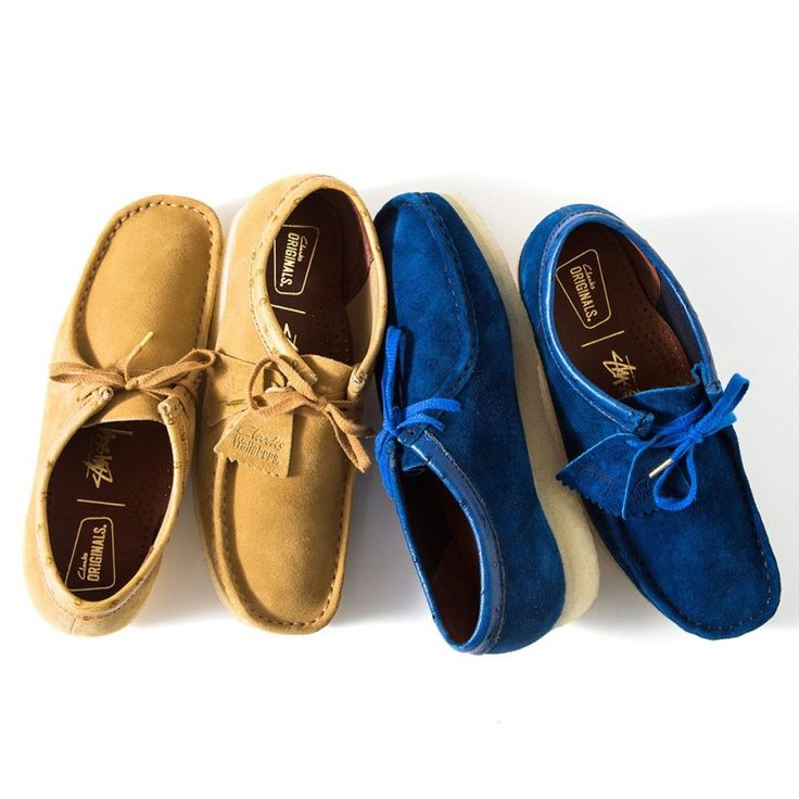 Stussy x Clarks Originals 2015 Fall/Winter Wallabee : The streetwear  mainstay unveils another footwear collaboration.