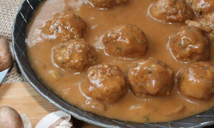 Ragoût de boulettes de grand-maman! La seule et unique façon de les cuisiner!