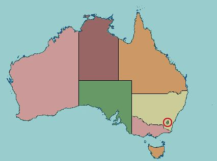 clickable map quiz of the states and territories of australia