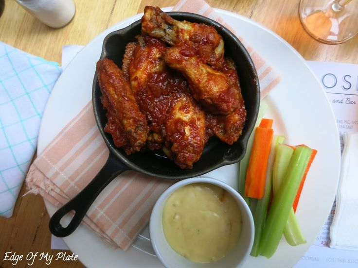 Edge Of My Plate: The Rose Diner And Bar - BBQ Chicken Wings