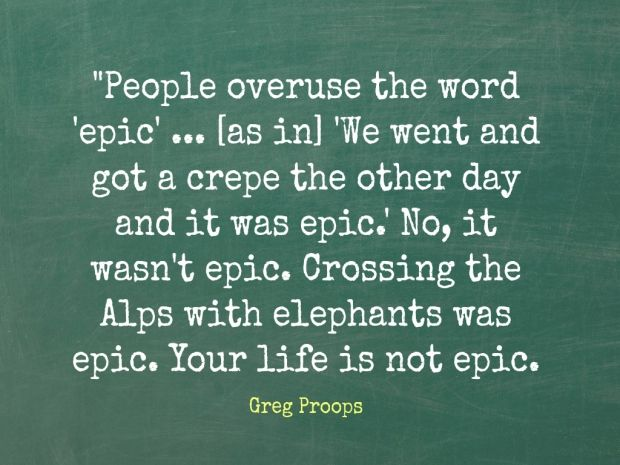 Greg Proops on the things all grown-ups should know - Q