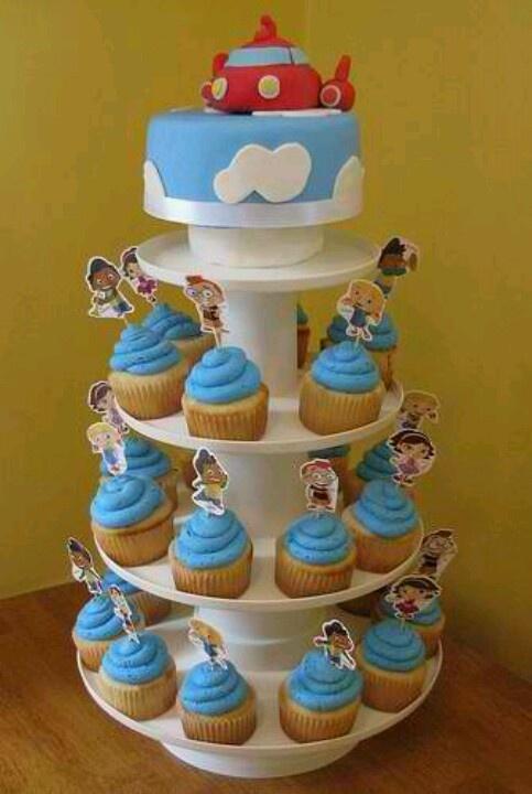 Little Einsteins Cake & Cupcakes Idea for Jerenis' birthday