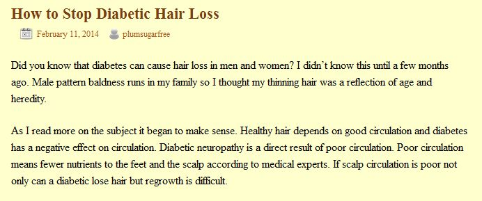 Does Metformin Cause Hair Loss? - healthline.com